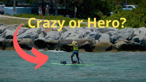 paddleboard at haulover inlet