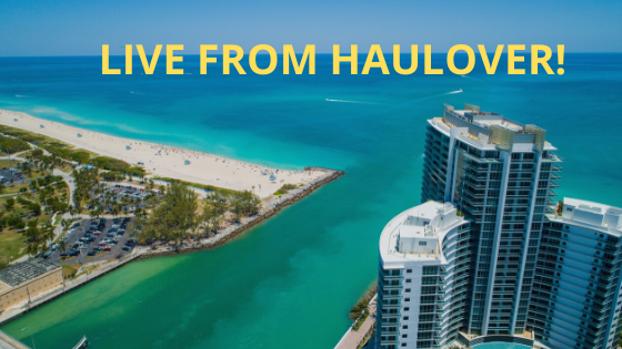 live from Haulover Inlet