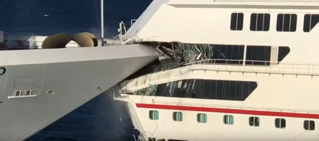 Carnival Cruise Crash in Mexico