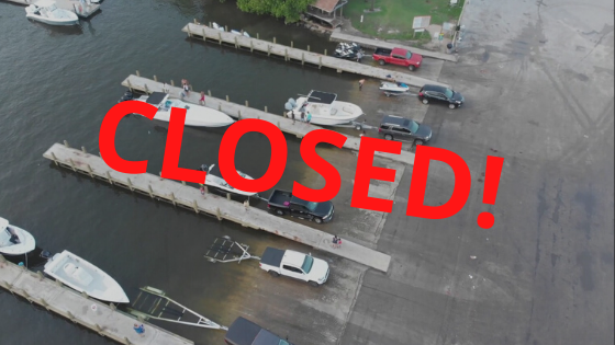 haulover boat ramp closed