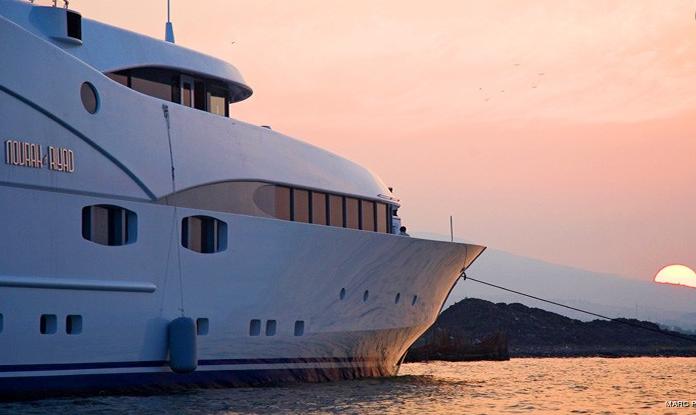 saudi prince's yacht nourah al riyad