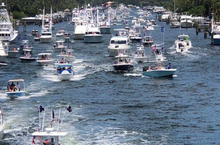 trump boat parade