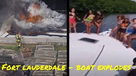 fort lauderdale boat explosion