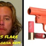 Florida man fired a flare gun at teens on another boat