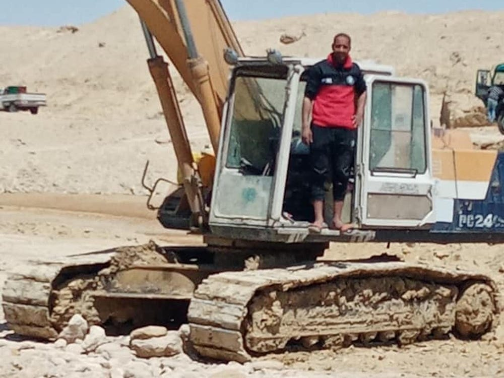 Abdullah Abdul Gawad Excavator Operator