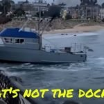 Captain Arrested After Running into Jetty