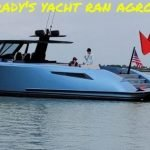 Tom Brady's yacht ran aground at Haulover
