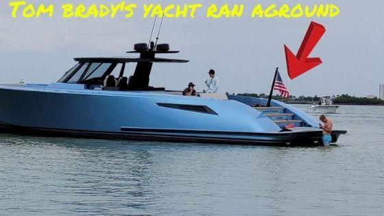 Tom Brady's Yacht
